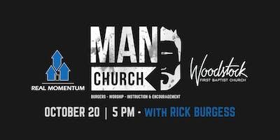 MAN CHURCH at FBC Woodstock