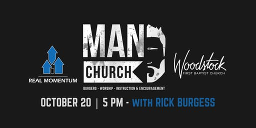 MAN CHURCH at FBC Woodstock