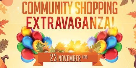 Community Shopping Extravaganza tickets
