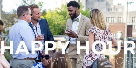 Happy Hour With A Purpose| August 28, 2019 tickets