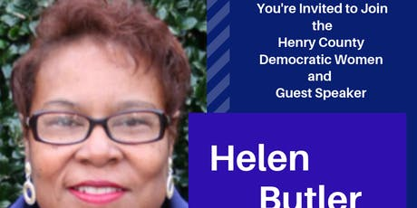 Henry County Democratic Womens Monthly Meeting w/ Helen Butler tickets