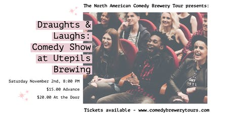 Draughts & Laughs: Beer and Comedy Show at Utepils Brewing! tickets