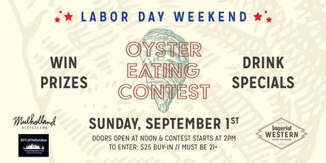 Oyster Eating Contest tickets