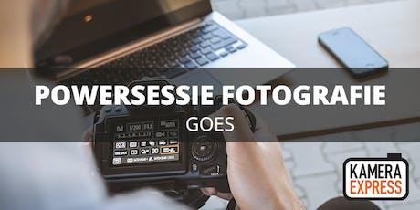 Powersessie Fotografie Goes tickets