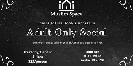Adult Only Social! tickets
