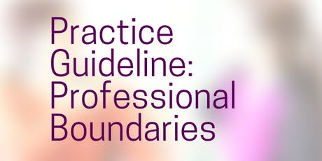 Ethics, Core Values and Professional Boundaries: Human and Social Services tickets