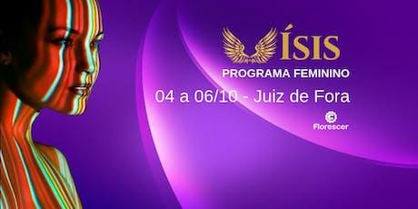 Ísis - Programa para Mulheres - Juiz de Fora bilhetes