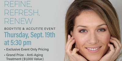 BodyTite, AccuTite, FaceTite Event: $1,000 Grand Prize & Exclusive Discount