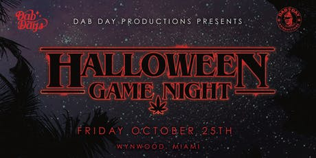 DAB DAY: HALLOWEEN GAME NIGHT tickets