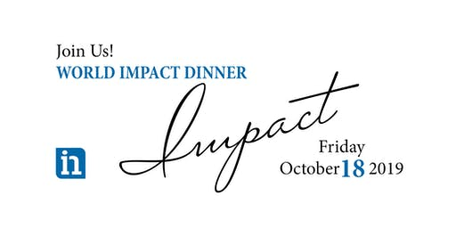 International Needs World Impact Dinner