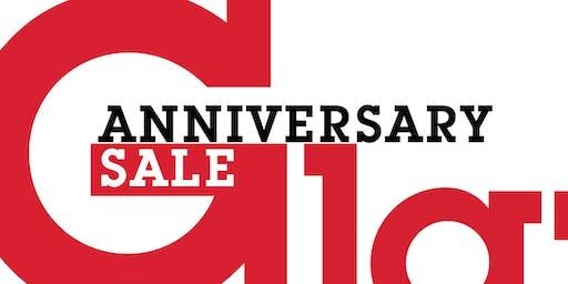 Glazer's Anniversary Sale - September 13-14, 2019