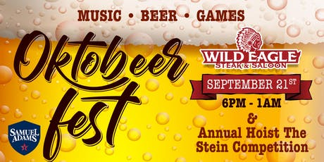 OctoBEERfest at Wild Eagle Steak & Saloon tickets