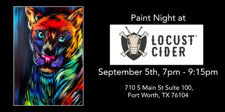Paint Night at Locust Cider Cidery and Taproom! tickets
