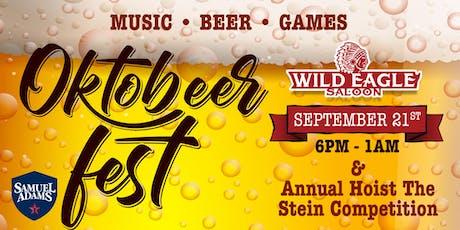 OctoBEERfest at Wild Eagle Saloon tickets