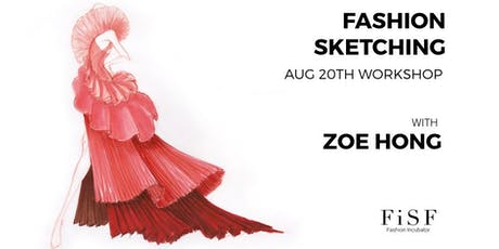Fashion Sketching w/ Zoe Hong tickets