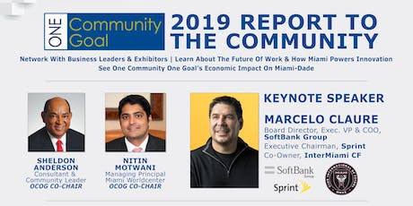 ONE COMMUNITY ONE GOAL: 2019 REPORT TO THE COMMUNITY tickets
