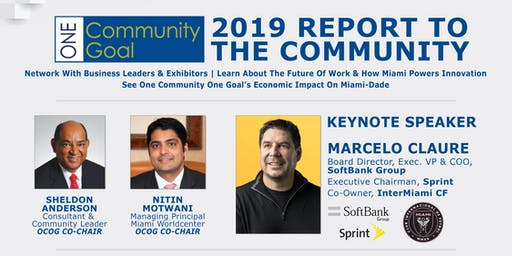 ONE COMMUNITY ONE GOAL: 2019 REPORT TO THE COMMUNITY