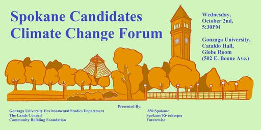 Spokane Candidate Climate Change Forum