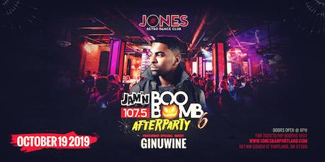 The Official Boo Bomb Afterparty w/ Ginuwine  tickets