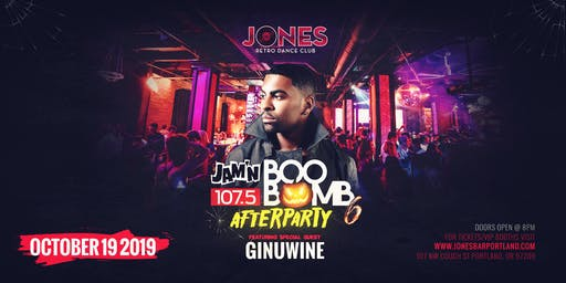 The Official Boo Bomb Afterparty w/ Ginuwine