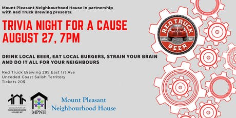 Trivia Night for a Cause tickets