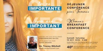 YES You're important! OUI Tu es importante! - Women Conference pour femmes