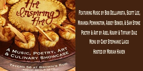 Art Inspiring Art: A Music, Poetry, Art & Culinary Showcase tickets