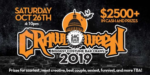 Sacbarcrawl.com presents: Crawloween 2019