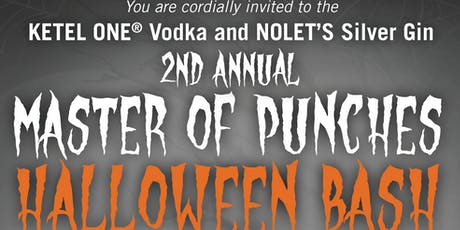 Master of Punches Halloween Bash presented by Ketel One Vodka & NOLET'S Gin tickets