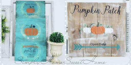 Barn Quilts and Autumn Signs