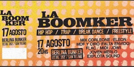 Fiesta La Boomker en Berlina Bunker entradas