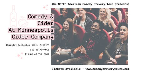 Comedy & Cider at Minneapolis Cider Company tickets