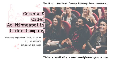 Comedy & Cider at Minneapolis Cider Company