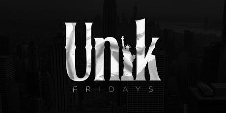 Unik Fridays at Fusion Lounge  tickets