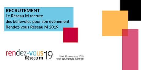 Rendez-vous Réseau M 2019 (bénévolat) tickets