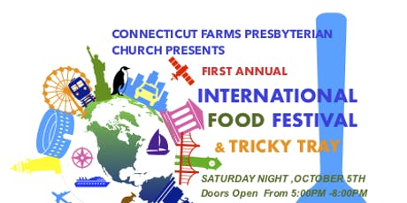 International Food Festival and Tricky Tray tickets