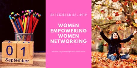 Women Empowering Women Networking September 2019 tickets