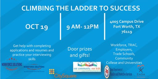 Climbing the Ladder to Success - Job Fair 2019