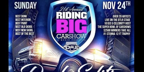 Riding Big Carshow and Music Festival tickets