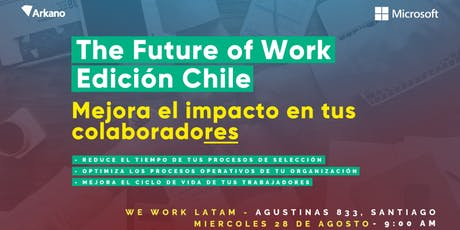 The Future of Work - Edición Chile entradas