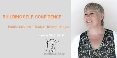 Building self-confidence – Public talk with Kadam Bridget Heyes