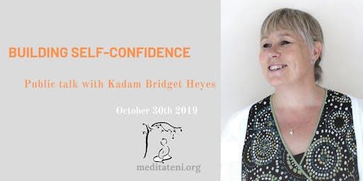 Building self-confidence – Public talk with Kadam