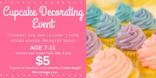 Cupcake Decorating Event