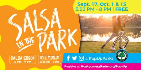 Salsa in the Park tickets