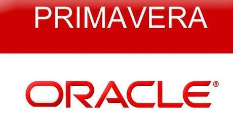 Oracle Primavera P6 Fundamentals Training Course (2 days) | Toronto - Weekend Class tickets