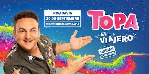 """TOPA """"EL VIAJERO"""" - RIVADAVIA, MDZ. Teatro Ducal"""