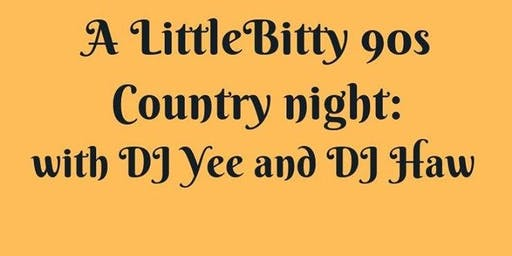 A Little Bitty 90's Country Night @ Mile Zero
