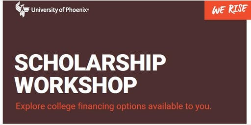 Scholarship Workshop - Visalia