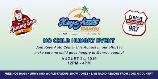 No Child Hungry Event - Keys Auto Center