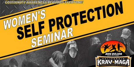 Women's Self Protection Seminar August 23rd tickets